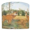 "<strong>Illumalite Designs</strong> 11"" Deer Prairie Drum Shade"