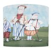 "<strong>Illumalite Designs</strong> 11"" Whimsy Golf Drum Shade"