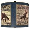 Illumalite Designs Majestic Horses Drum Shade