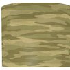 "<strong>Illumalite Designs</strong> 11"" Camouflage Drum Shade"