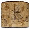 "<strong>Illumalite Designs</strong> 11"" Serious Pirates Drum Shade"