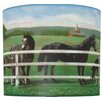 "<strong>11"" Saddle Up Drum Shade</strong> by Illumalite Designs"