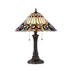 "Chloe Lighting Victorian Ambrose 21.9"" H Table Lamp with Empire Shade"