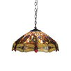 <strong>Dragonfly 3 Light Dragon Ceiling Bowl Pendant</strong> by Chloe Lighting
