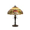 "<strong>Chloe Lighting</strong> Victorian Hestle 24"" H Table Lamp with Bowl Shade"