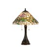 "Chloe Lighting Constance 21.5"" H Table Lamp with Empire Shade"
