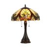 """Chloe Lighting Victorian Amore 21.3"""" H Table Lamp with Bowl Shade"""