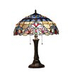 "Chloe Lighting Victorian Grenville 22"" H Table Lamp with Bowl Shade"
