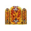 <strong>Chloe Lighting</strong> Victorian 3 Panel Garbo Fireplace Screen