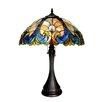 "Chloe Lighting Amor 21.3"" H Table Lamp with Bowl Shade"