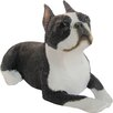 Sandicast Small Size Boston Terrier Sculpture