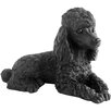 Sandicast Small Size Poodle Sculpture