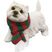 <strong>Sandicast</strong> Standing West Highland Terrier Christmas Ornament