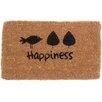 Coco Mats N More Happiness Doormat