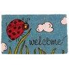 Coco Mats N More Magic L.E.D Little Ladybug Doormat