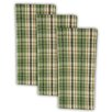 <strong>Design Imports</strong> Pine Peak Plaid Heavyweight Dishtowel (Set of 3)