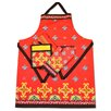 <strong>Design Imports</strong> 4 Piece La Cocina Printed Kitchen Set