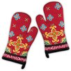 Design Imports La Cocina Stripe Oven Mitt (Set of 2)