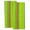 <strong>Design Imports</strong> Hacienda Stripe Dishtowel (Set of 2)