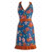 <strong>Floral With Ricrac Apron</strong> by Design Imports