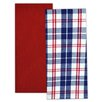 <strong>2 Piece Flag Stripe Dishtowel Set</strong> by Design Imports