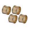 Design Imports Napkin Rings (Set of 4)