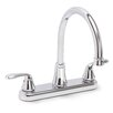 <strong>Premier Faucet</strong> Waterfront 2 Handle Centerset Kitchen Faucet with Optional Side Spray