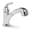 <strong>Premier Faucet</strong> Waterfront Single Handle Single Hole Kitchen Faucet with Pull-Out Spray