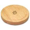 Picnic Time NCAA Circo Engraved Circulor Cutting Cheese Tray