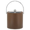 <strong>San Remo Pinecone Design 3 Qt Ice Bucket with Metal Cover</strong> by Kraftware