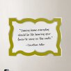 <strong>Jonathan Adler Dry Erase Enamel Board Wall Decal</strong> by WallPops!