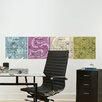 <strong>WallPops!</strong> Dry-Erase 4 Piece Twister Calendar Wall Decal