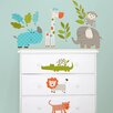 WallPops! Art Kit Lets Go On Safari Wall Decal