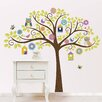 WallPops! Art Kit Owl Tree Wall Decal