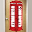 WallPops! Dry Erase London Phone Booth Giant Wall Decal