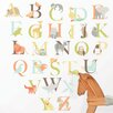 WallPops! Art Kit Alphabet Zoo Wall Decal
