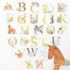WallPops! Art Kit Alphabet Zoo Wall Decal