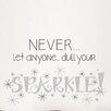 <strong>Art Kit Dull Your Sparkle Quote Wall Decal</strong> by WallPops!