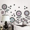 WallPops! Art Kit Floral Medley Large Wall Decal