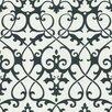Brewster Home Fashions Ink Ironwork Trellis Wallpaper