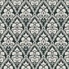 Brewster Home Fashions Echo Design Echo Damask Wallpaper Sample
