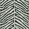 Brewster Home Fashions Echo Design Herringbone Zebra Wallpaper Sample