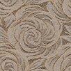 Brewster Home Fashions Venezia Mercede Lace Rosette Swirl Floral Wallpaper