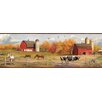 Brewster Home Fashions Borders by Chesapeake Jonny American Farmer Portrait Scenic Wallpaper Border