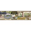 Brewster Home Fashions Borders by Chesapeake Skippy Fishing Signs Portrait Wildlife Border Wallpaper