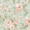 Brewster Home Fashions Artistic Illusion Berkin Large Floral Vine Floral Wallpaper