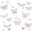<strong>Brewster Home Fashions</strong> WallPops Flutterby Butterflies Applique Wall Decal Kit