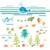 Brewster Home Fashions WallPops Under The Sea Applique Wall Decal Kit
