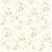 Brewster Home Fashions Pure Country Sandra Leaf Ivy Toile Wallpaper
