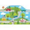 Brewster Home Fashions WallPops Around Town Wall Mural